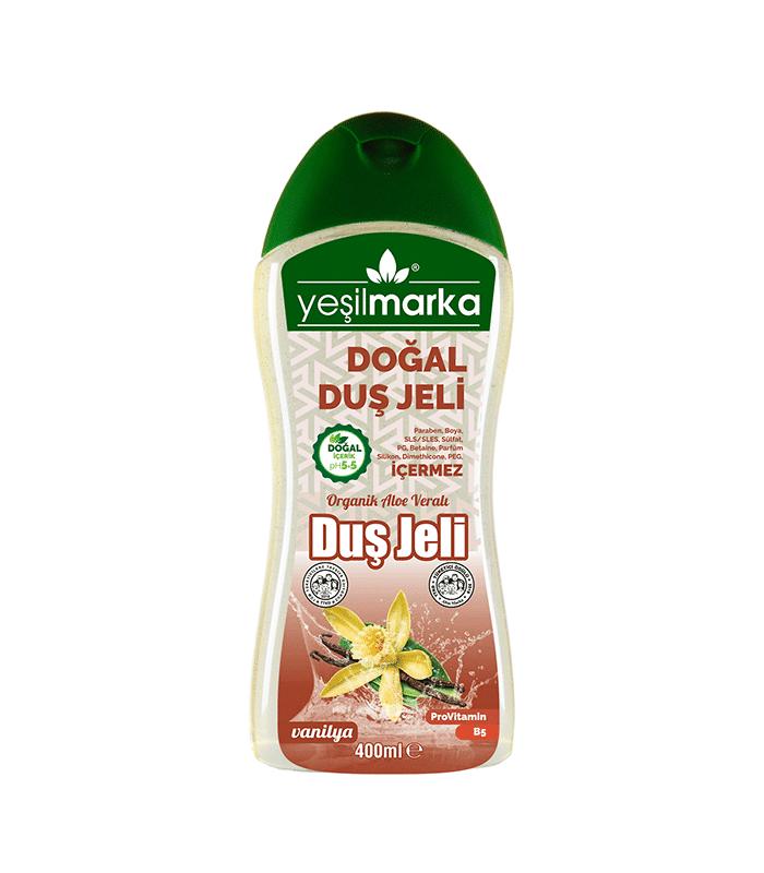 doğal duş jeli - vanilya
