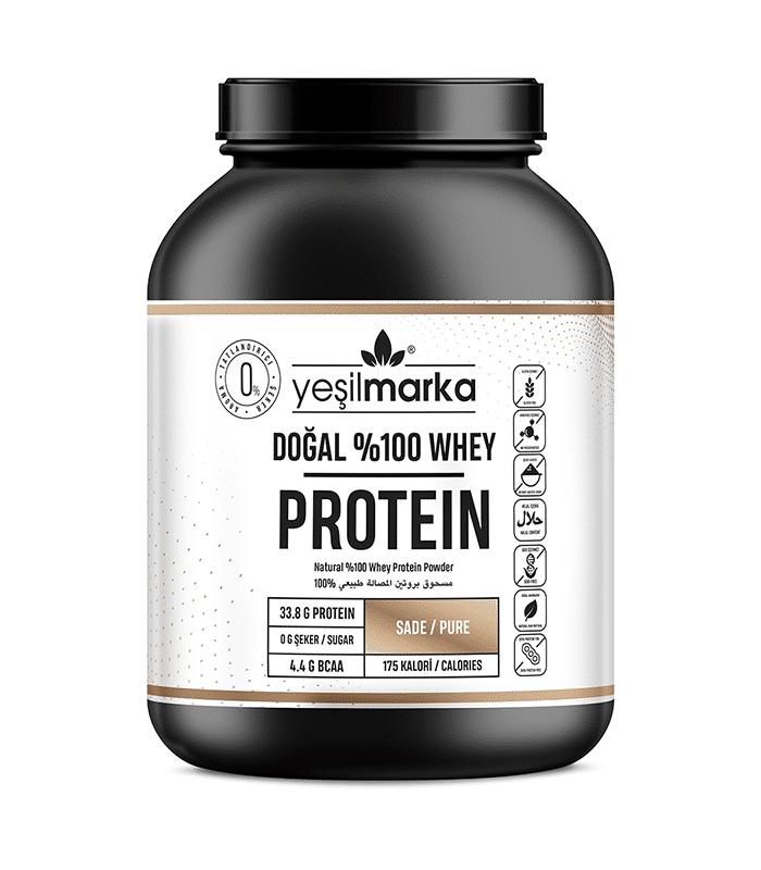 saf aromasız protein tozu