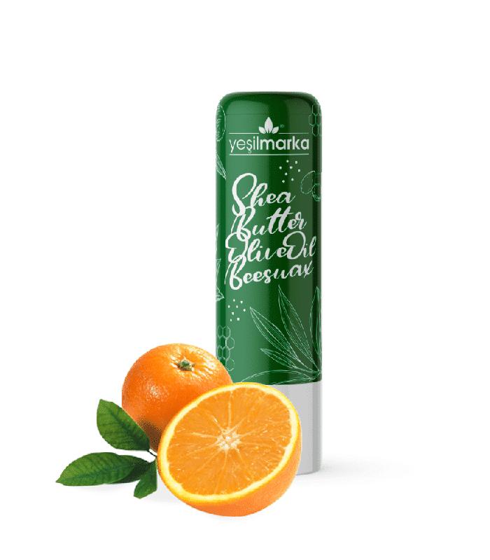 doğal dudak balmı portakal